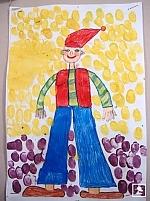 A Lurkó fesztiválra beküldött rajz